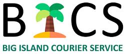 Big Island Courier Service Logo
